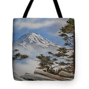 Mt. Rainier Landscape Tote Bag