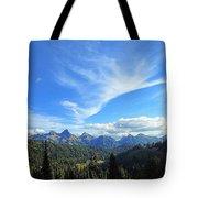 Mt. Rainier National Park Tote Bag
