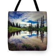 Mt Rainier Reflections Tote Bag
