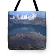 Mt Rinjani Tote Bag