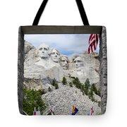 Mt Rushmore Entrance Tote Bag