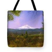 Mt. Shasta Tote Bag