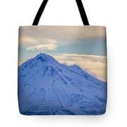 Mt. Shasta Snow Drifts Tote Bag