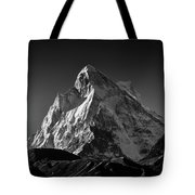 Mt Shivling Above Tapovan Tote Bag