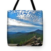 Mt. St. Helens And Red Mountain Tote Bag