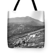 Mt Tam From The Tiburon Hills 1975 Tote Bag