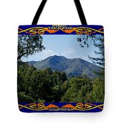 Mt Tamalpais Framed 2 Tote Bag