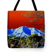 Mt Tamalpais From Another World Tote Bag
