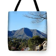 Mt Tamalpais View From Mill Valley Tote Bag