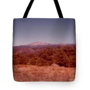 Mt Taylor In New Mexico  Tote Bag