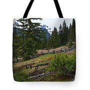 Mt. Trails Tote Bag