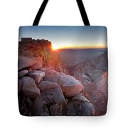 Mt Whitney And Pinnacles Sunrise - John Muir Trail Tote Bag