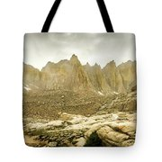Mt Whitney Sierra Basecamp Tote Bag