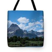 Mt Wilbur In Glacier National Park Tote Bag