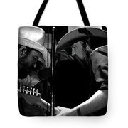 Mtb77#34 Enhanced Bw Tote Bag