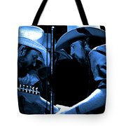 Mtb77#34 Enhanced In Blue Tote Bag