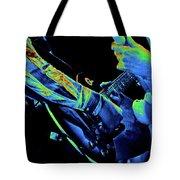 Mtb77#79 Enhanced In Cosmicolors Crop 2 Tote Bag