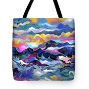 Mts. In The Sea Tote Bag