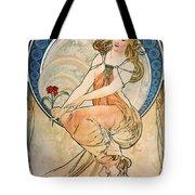 Mucha: Poster, 1898 Tote Bag