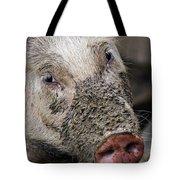 Mud Face Tote Bag