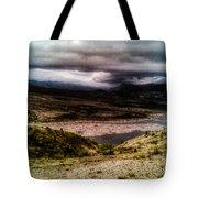 Mud Flow To Spirit Lake Color Tote Bag