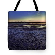 Muddy Beach Tote Bag