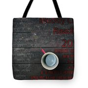 Muddy Cup New Paltz Tote Bag