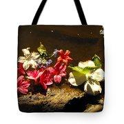 Muddy Flowers  Tote Bag
