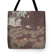 Muddy Footprints Over A Carpet Tote Bag