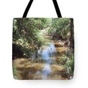 Muddy Hickory Creek  Tote Bag