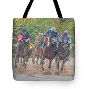 Muddy Turn Tote Bag