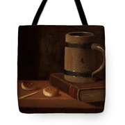 Mug Book Biscuits And Match Tote Bag