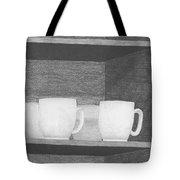 Mugs On A Shelf Tote Bag