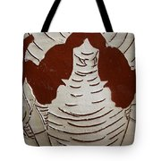 Mukama Atulabba - God Sees Us - Tile Tote Bag