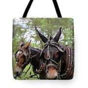 Mule Days 2 Tote Bag