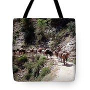 Mule Train Tote Bag