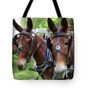 Mules 6 Tote Bag