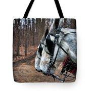 Mules At Sugar Camp Tote Bag