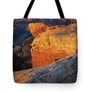Muley Point Sunrise-v Tote Bag