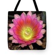 Multi Color Flower Tote Bag