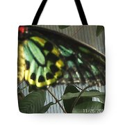 Multi-colored Butterfly Tote Bag