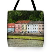 Multi-colored Structures Tote Bag