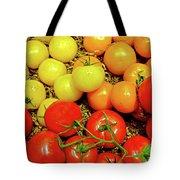 Multi Colored Tomatoes Tote Bag