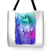 Multi Coloured Unicorn Tote Bag