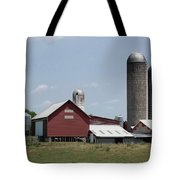 Multi Silo Farm Tote Bag