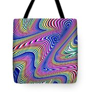 Multicolor Swirls Tote Bag