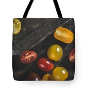 Multicolored Cherry Tomatoes Tote Bag