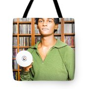 Multimedia Buff Or Computer Geek Tote Bag