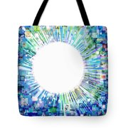 Multimedia Screen And Graphic Design Tote Bag
