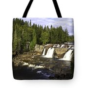 Multiple Waterfalls Tote Bag by John Holloway